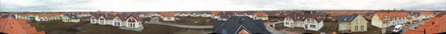Zmenšené panorama z přístupového bodu AP Hostivice Vilky