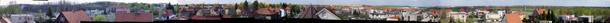 Zmenšené panorama z přístupového bodu AP Hostivice